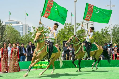 Turkmenistan is Moving Forward with the Speed of an Akhalteke