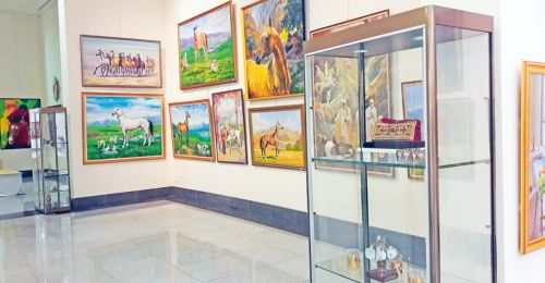 Exhibition of Best Art Images of Akhal-Teke Horse Opens in Ashgabat