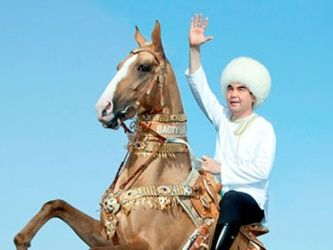 President Gurbanguly Berdimuhamedov Took Part in the Celebrations in Honor of the Turkmen Horse Day