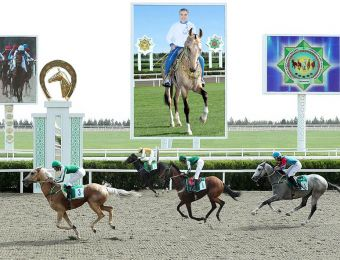 Celebrations on the Occasion of the National Horse Day Were Held in Turkmenistan