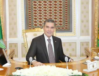 President of Turkmenistan Visited the Akhal-Teke Equestrian Complex